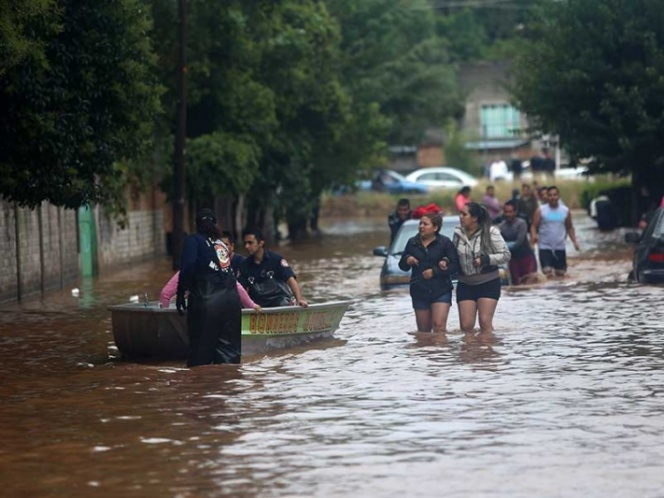 Declara Segob emergencia en Morelia por inundaciones y lluvias