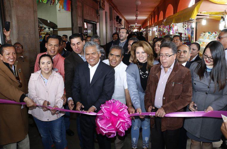 Con olor, color y sabor inicia en Toluca la Feria y Festival Cultural del Alfeñique