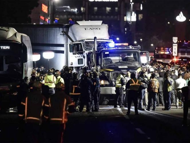 Asciende a 10 el número de fallecidos en accidente de la México-Toluca