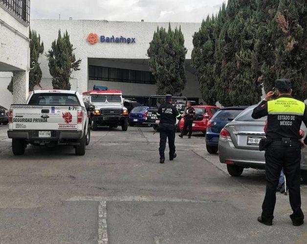 ¡Robo del año en Naucalpan! Comando armado roba 10 mdp a camioneta de valores