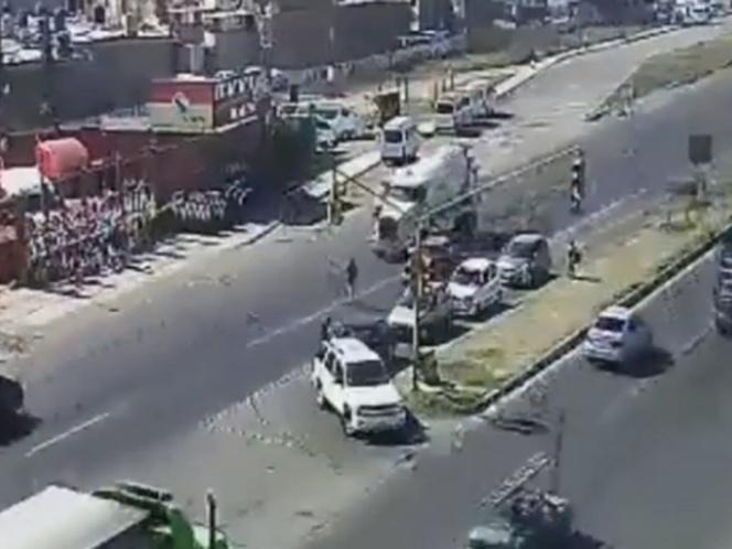 VIDEO: Atropellan a hombre en la Texcoco-Lechería