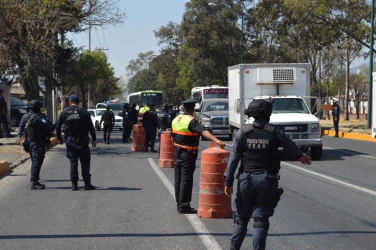 Listo el Operativo de Seguridad por temporada decembrina en Toluca