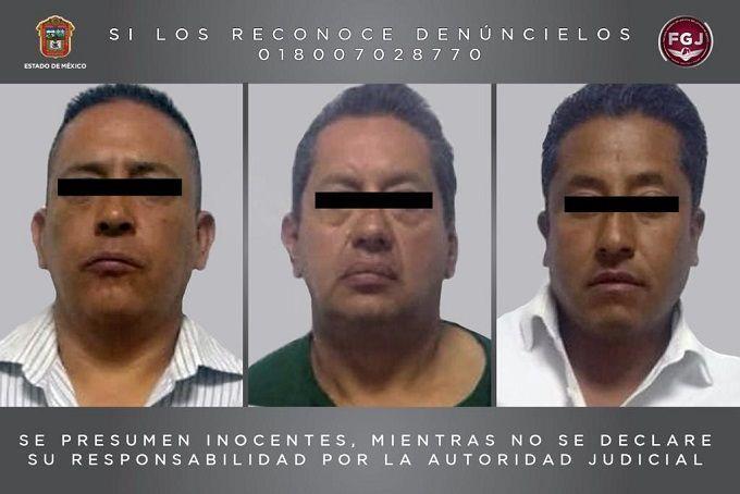Aseguran a 3 por secuestro exprés en Cuautitlán; uno es ministerial
