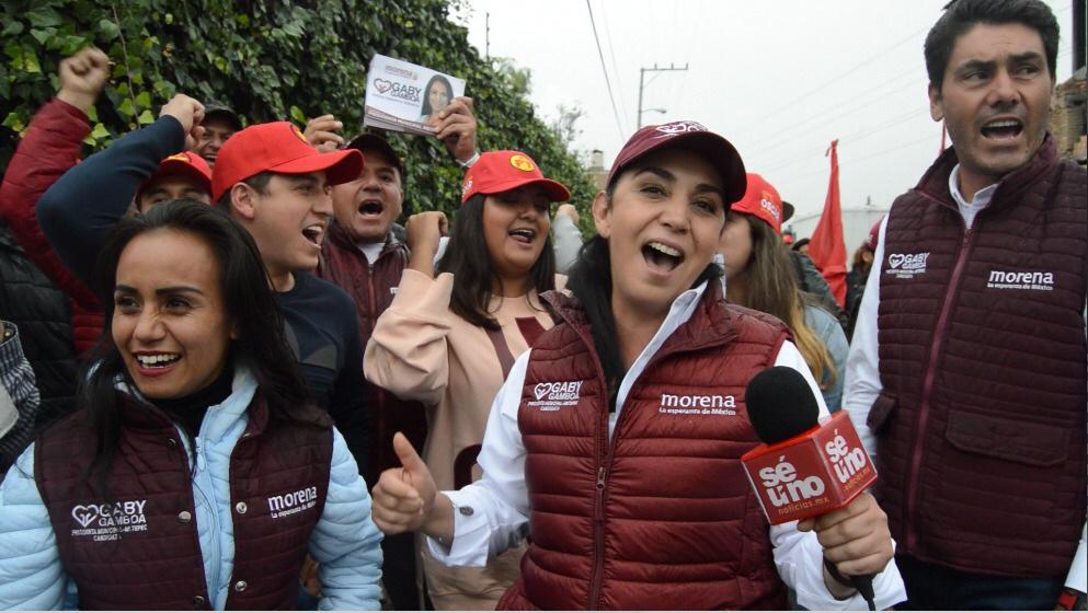 Revelará Gaby Gamboa su plan de gobierno para Metepec