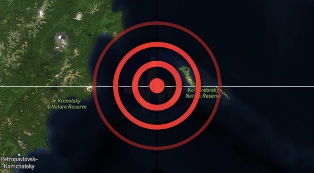 Alerta de Tsunami en Rusia tras sismo de 7.3 grados