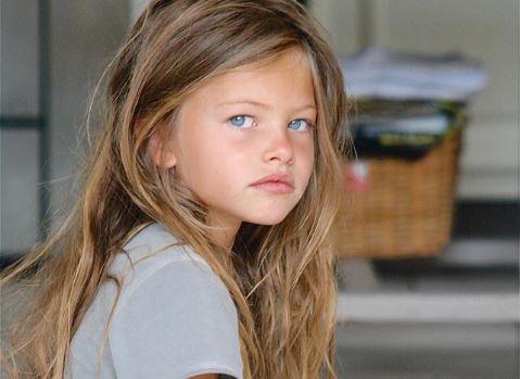 """Así ha crecido Thylane Blondeau """"la niña más bella del mundo"""""""