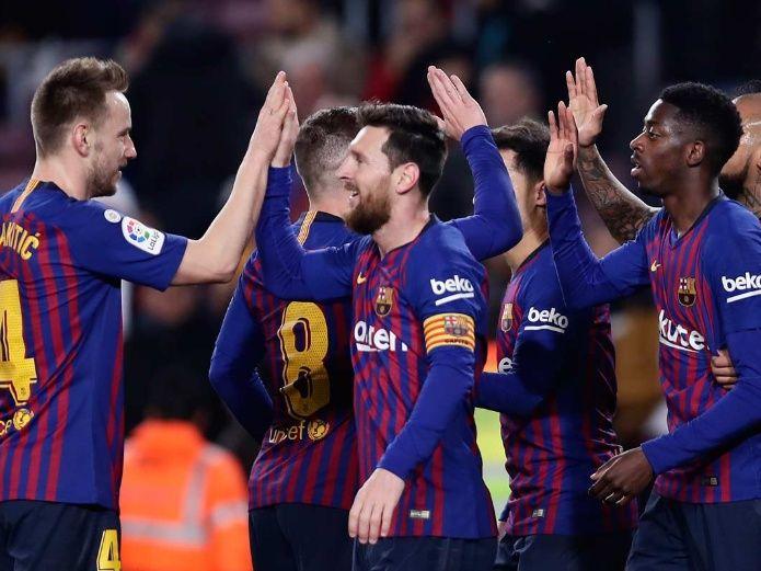 Se salva de sanción el Barcelona y continúa en la Copa del Rey
