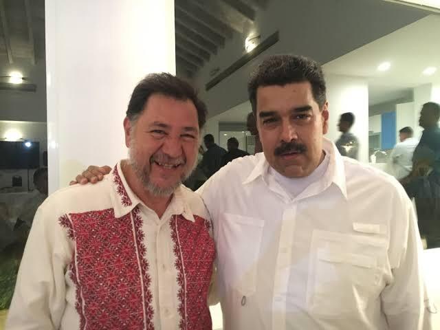 Viajes de Noroña a Venezuela fueron pagados por Maduro