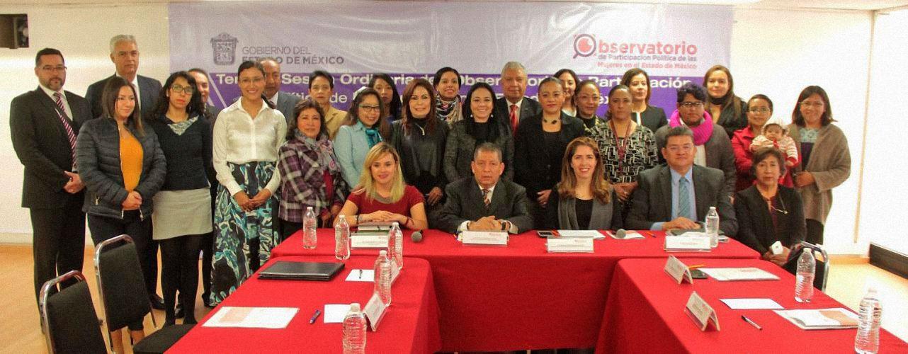 Promueve IEEM acciones coordinadas en observatorio de participación política de las mujeres