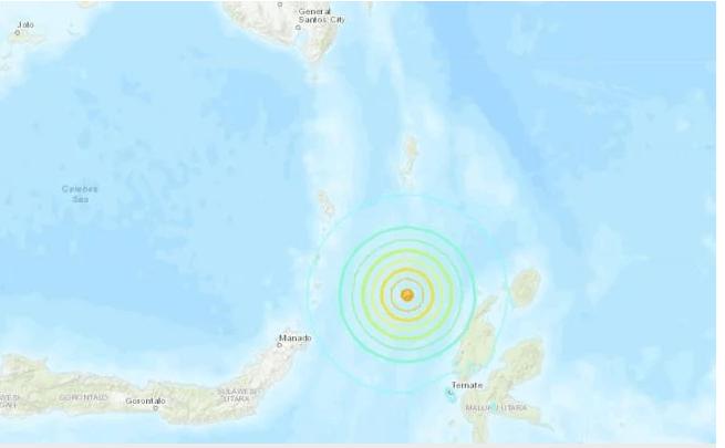 Fuerte sismo de 6.6 sacude Indonesia