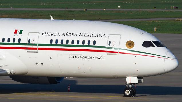 Publica Sedena costos por estacionamiento del avión presidencial