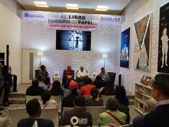 Exhibe Edoméx novedades literarias en Feria Internacional del Libro del Palacio de Minería
