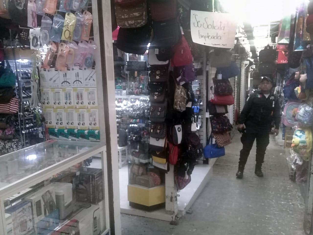 Articula Toluca operativos para prevenir delitos en mercados y plazas públicas