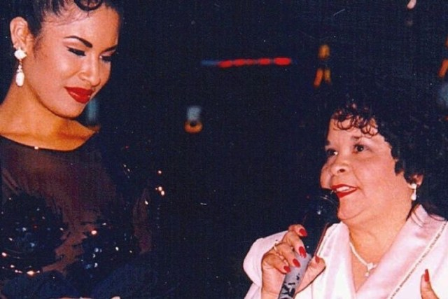 Selena Quintanilla y Yolanda Saldívar. Foto: AP