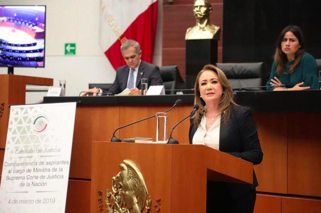 Senado elige a Yasmín Esquivel comp nueva ministra de la SCJN