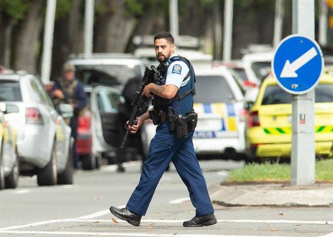 Al menos 49 muertos tras tiroteos en dos mezquitas de Nueva Zelanda