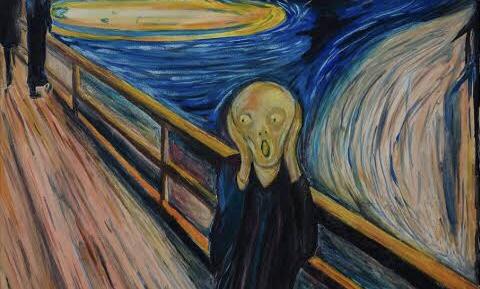 """""""El grito"""" no es una persona gritando 😱😱😱"""