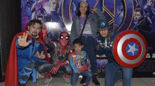 Así disfrutaron los mexiquenses el estreno de Avengers EndGame. Noticias en tiempo real