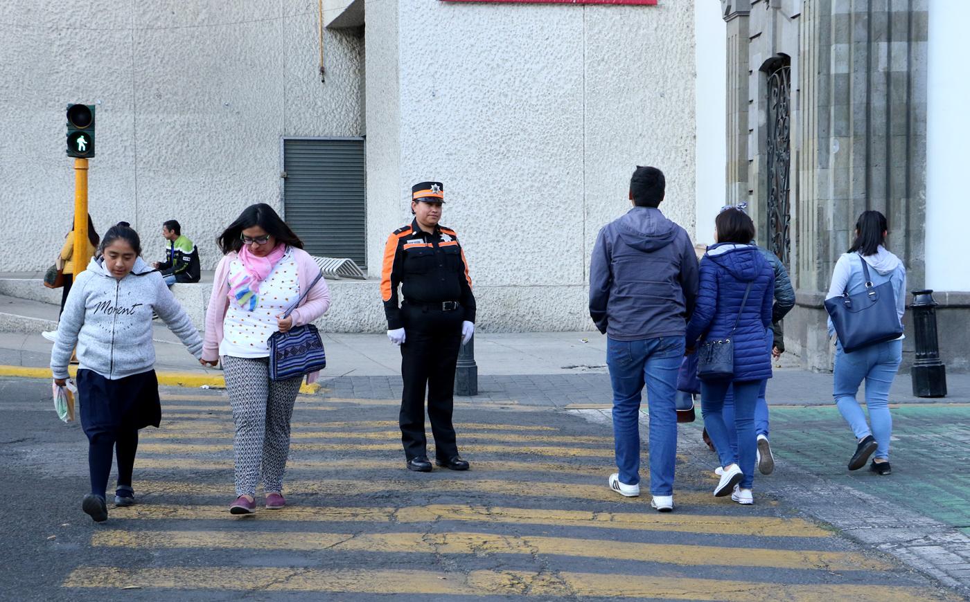 Actualizan sistema de semáforos en el centro de Toluca
