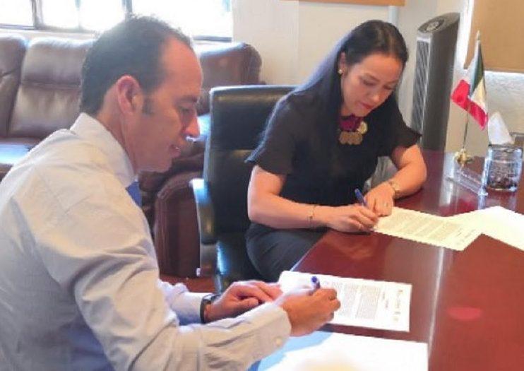 Signan convenios  Secretaría de Justicia y Derechos Humanos con Ayuntamientos  en materia legal