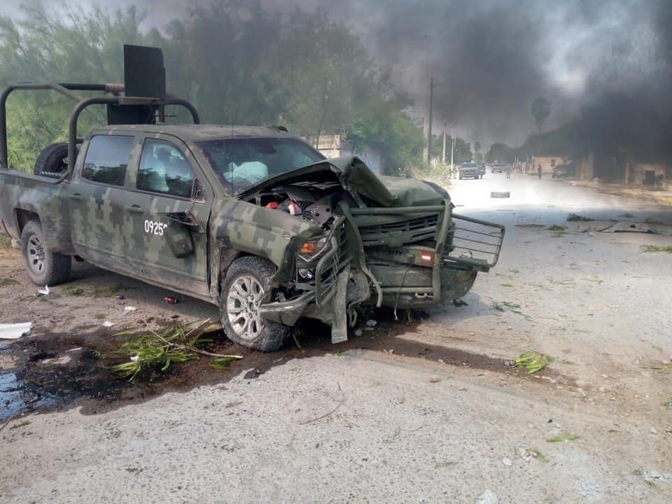 Militares y delincuentes se enfrentan en Tamaulipas