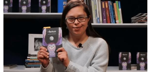 """""""Anochecer"""" el primer libro de una escritora con Síndrome de Down"""