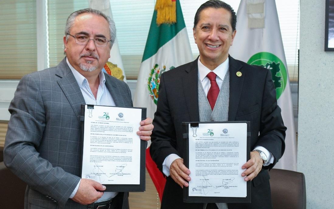 CODHEM y FAMECOM signan convenio de colaboración en torno a la detección del VIH-SIDA