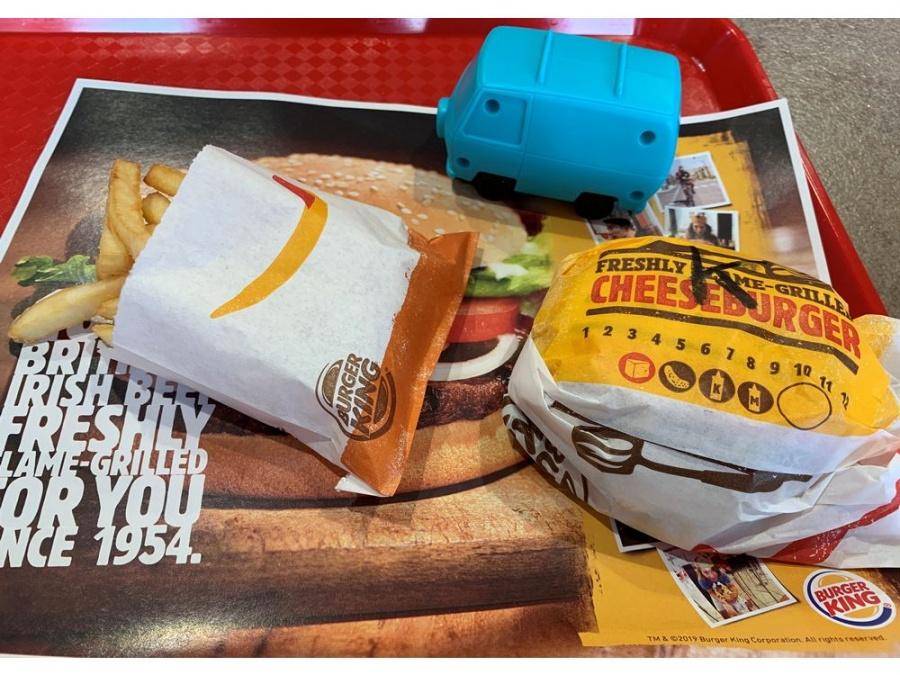 Burger King 'dice adiós' a los juguetes de plástico en comidas para niños