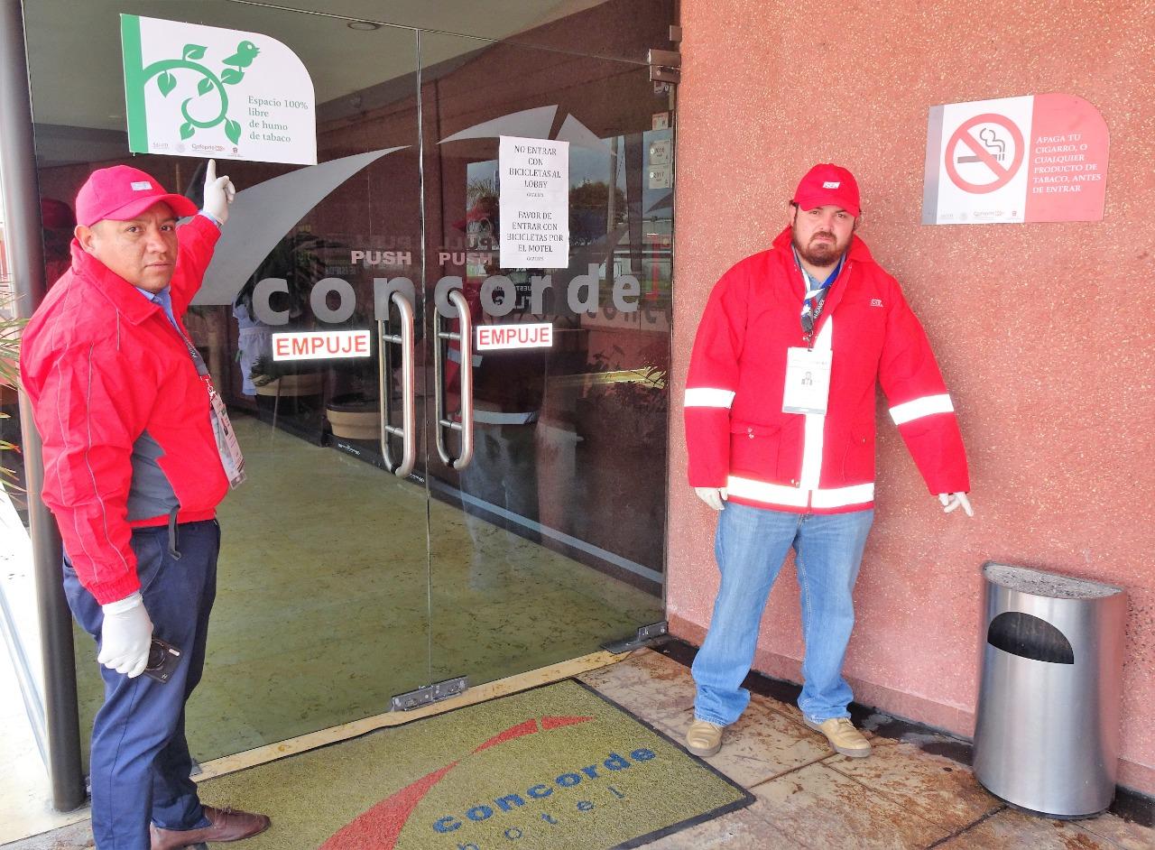 Supervisa Secretaría de Salud respeto a espacios 100% libres de humo de tabaco