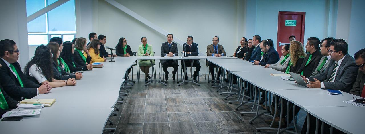 Calidad en el servicio es signo de compromiso con la defensa de los derechos humanos: Jorge  Olvera