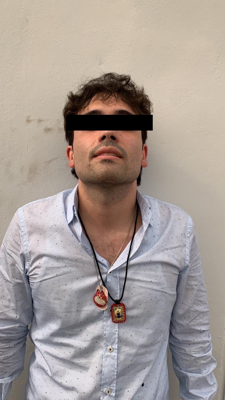 """Ovidio Guzmán López es el hijo del narcotraficante encarcelado Joaquín """"El Chapo"""" Guzmán y su segunda esposa, Griselda López."""
