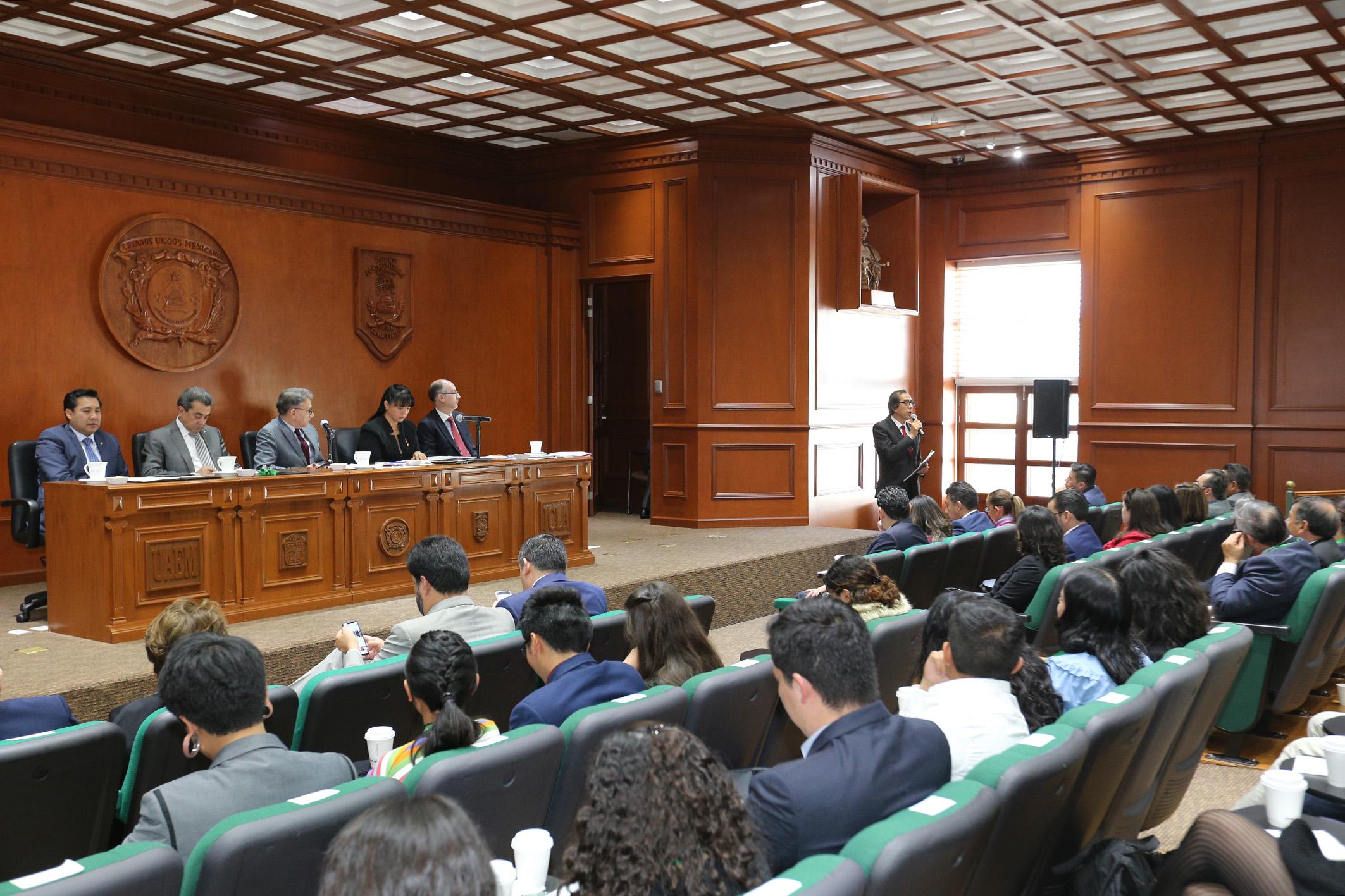 H. Consejo Universitario de UAEM aprobó reforma al Reglamento de los Estudios Avanzados