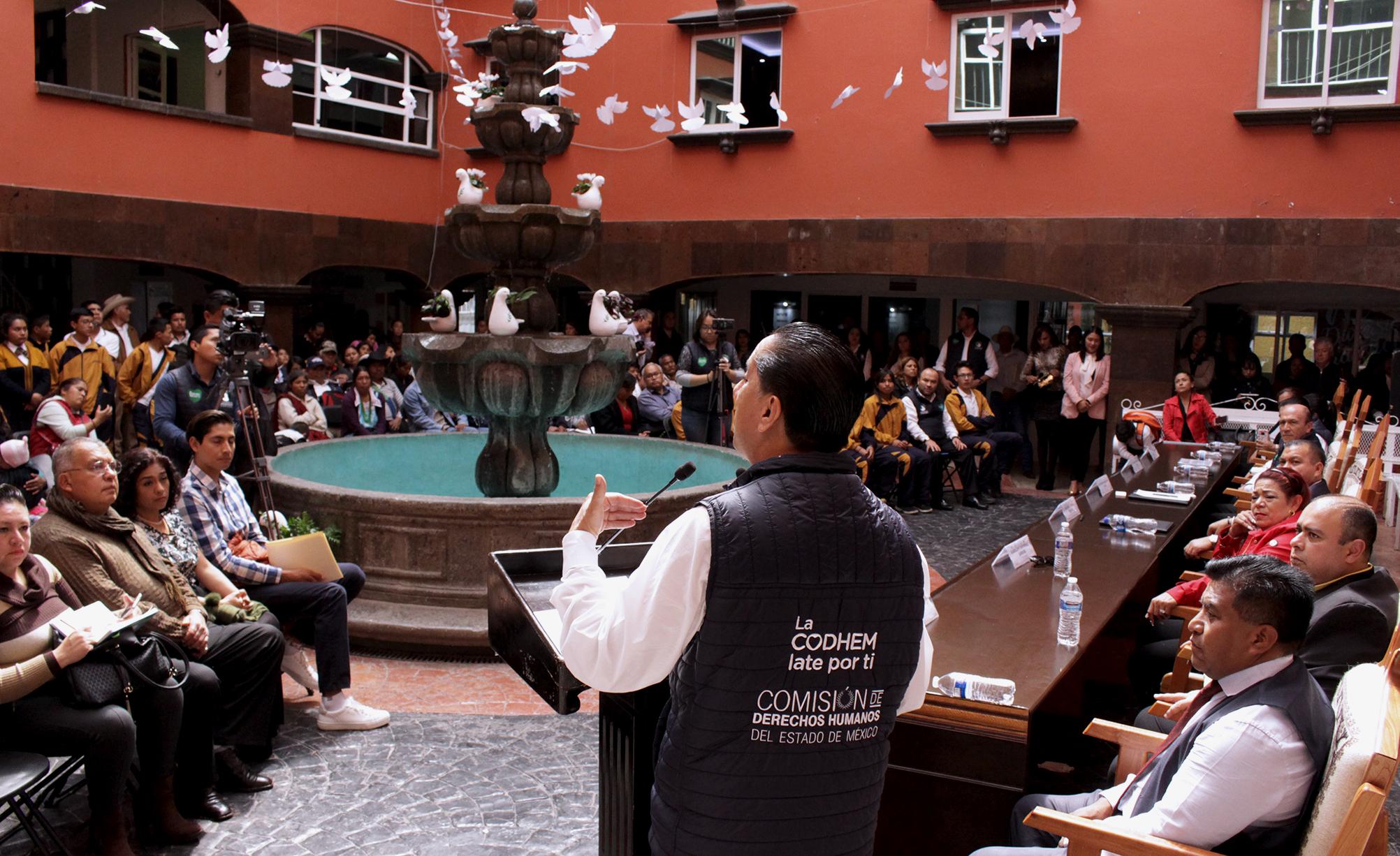 CODHEM tendrá visitaduría para la protección y defensa de los derechos de pueblos originarios del Edoméx