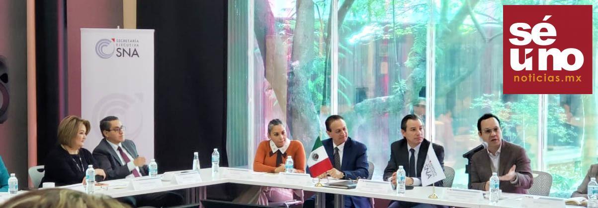 Edoméx presente en reunión nacional de Sistemas Anticorrupción