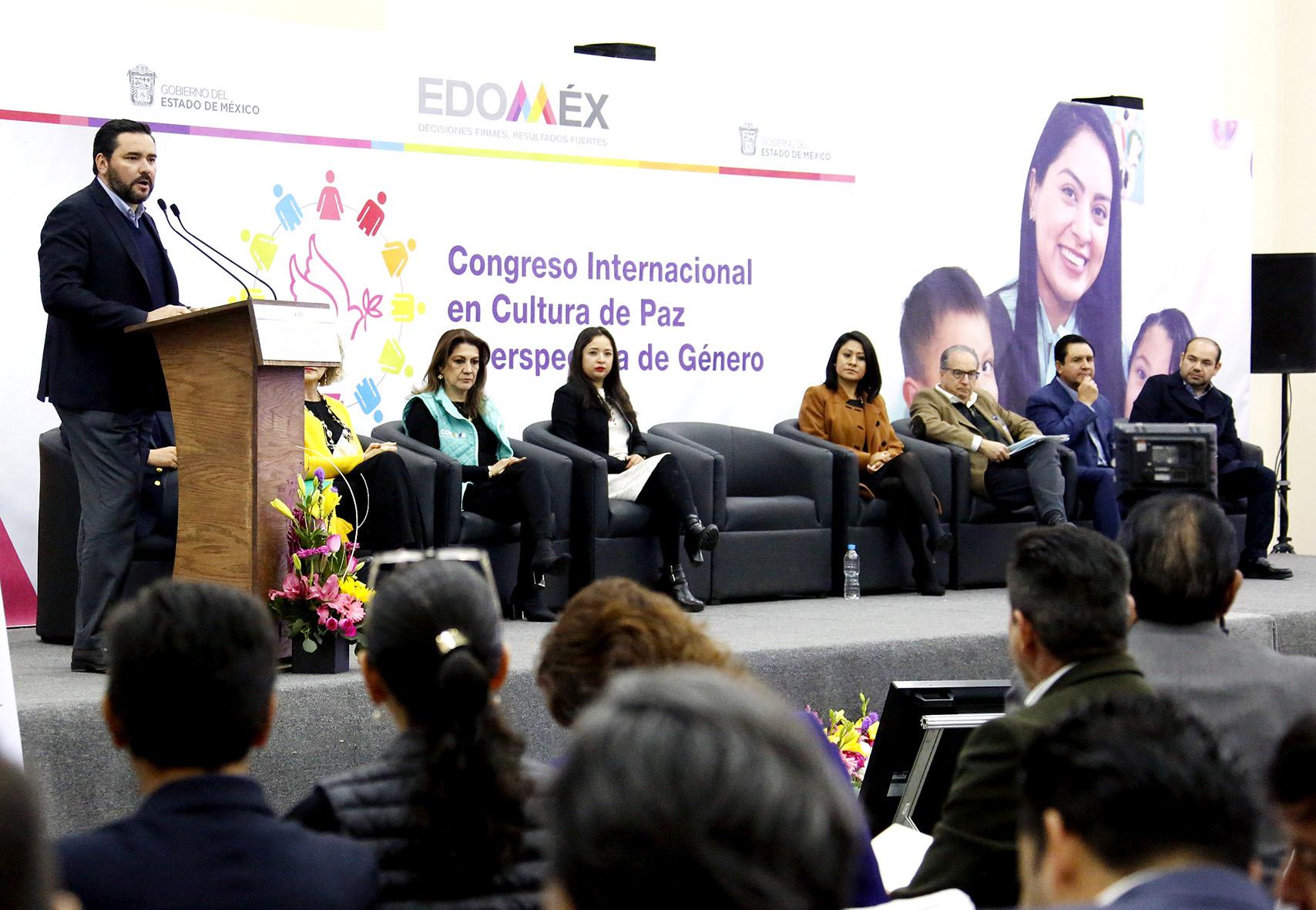 Realiza GEM Congreso Internacional en Cultura De Paz y Perspectiva de Género