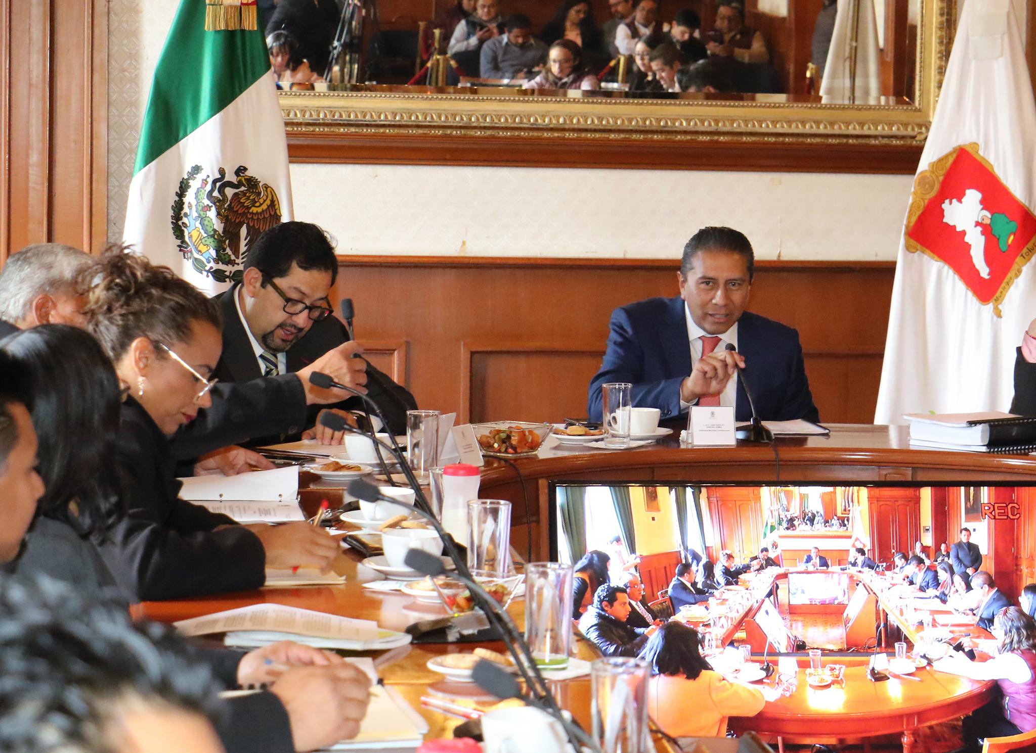 Instala Toluca su Comité Municipal de Movilidad