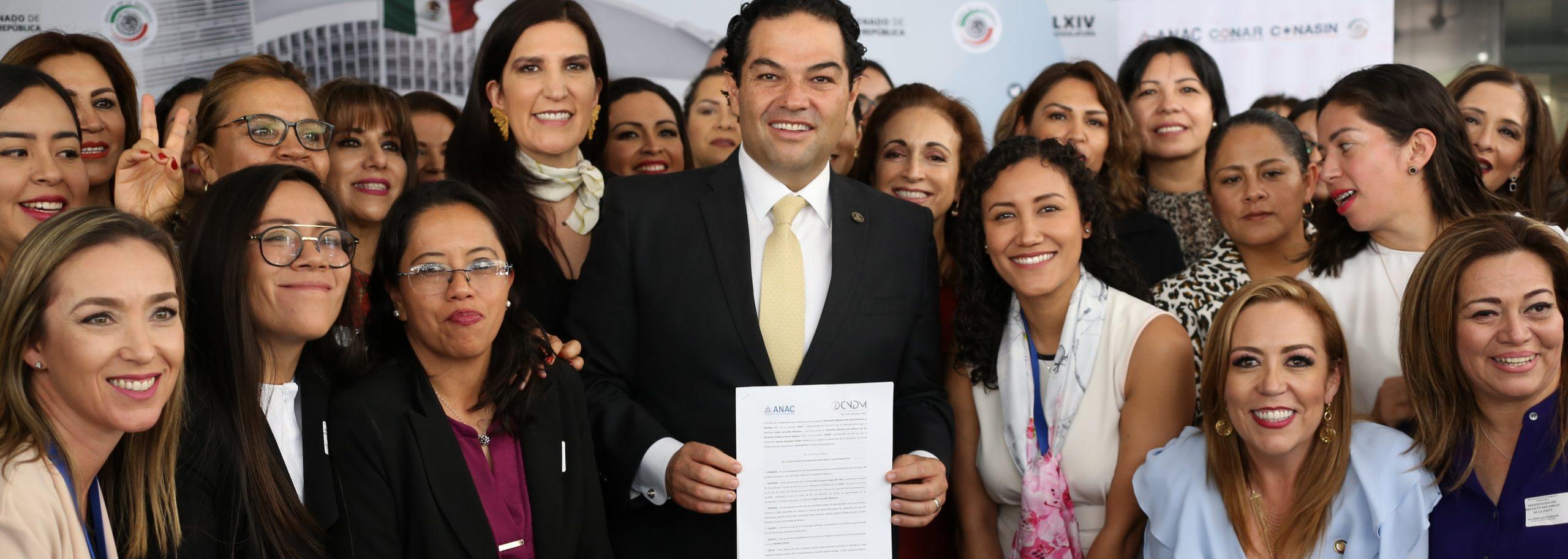 Alcalde de Huixquilucan se une a favor de la lucha por los Derechos Políticos de las mujeres y su empoderamiento