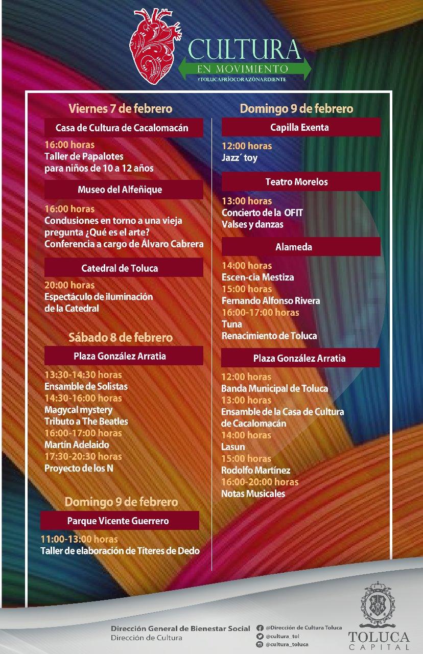 Gobierno fomenta la identidad, el arraigo y el amor a Toluca