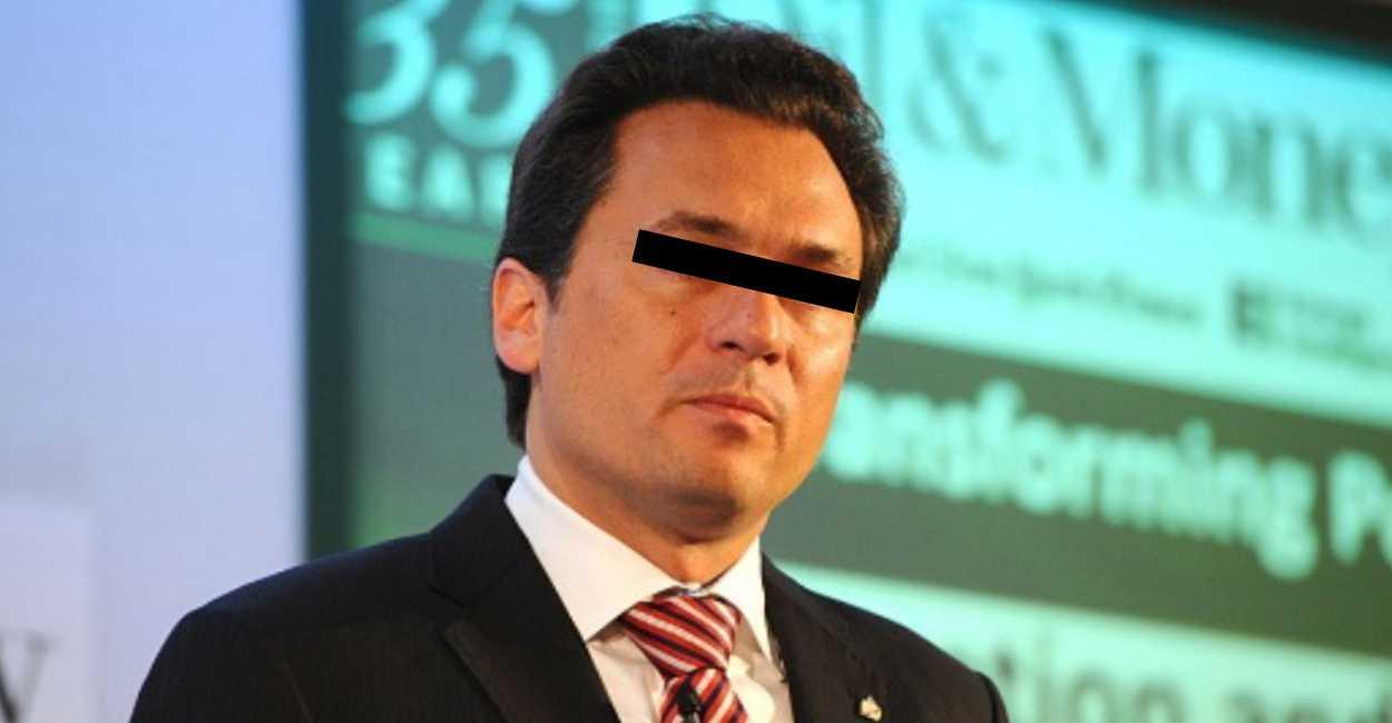 #Video Difunden momento en que detienen a Emilio Lozoya en España