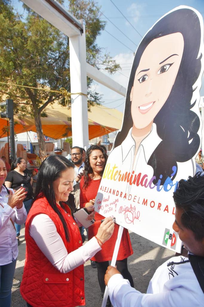 El 9 de Marzo, todas las mujeres priistas en paro: Alejandra del Moral