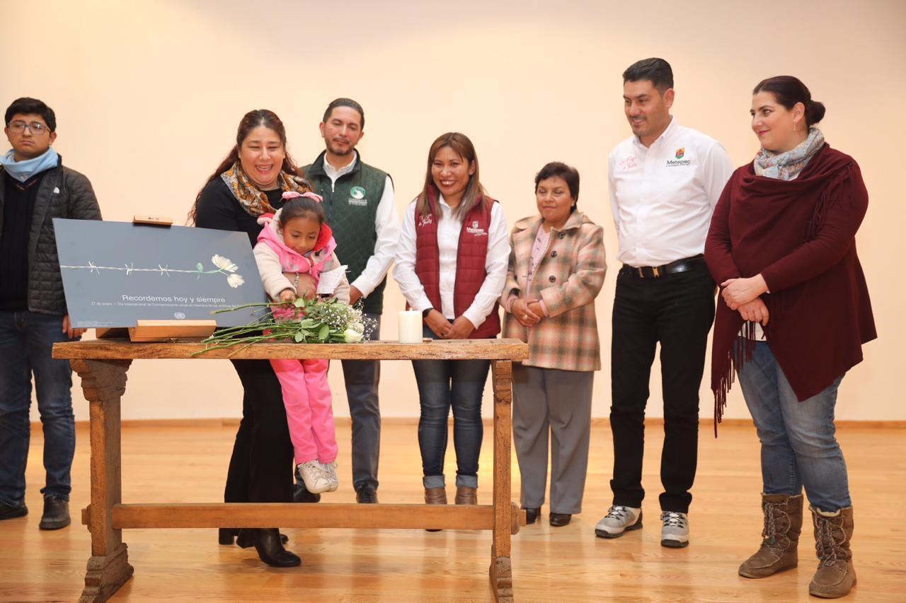 """A 75 años del Holocausto la ONU expone en Metepec """"Proyecto Mariposa"""""""