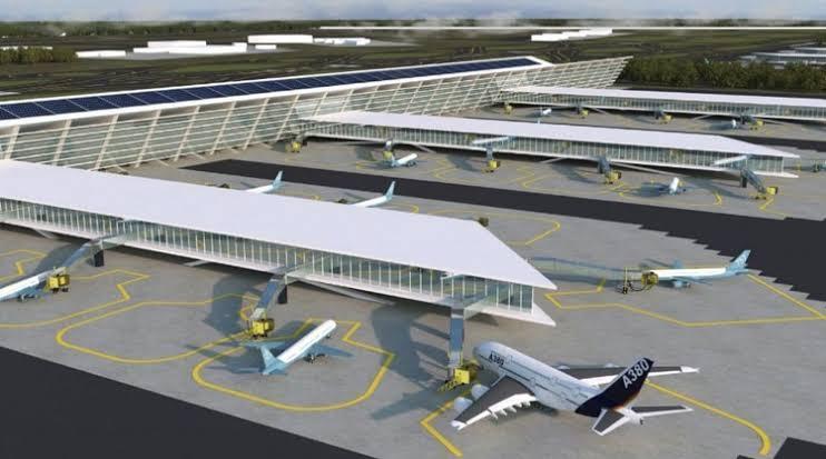 Con 5.40% de avance, aeropuerto en Santa Lucía: López Obrador