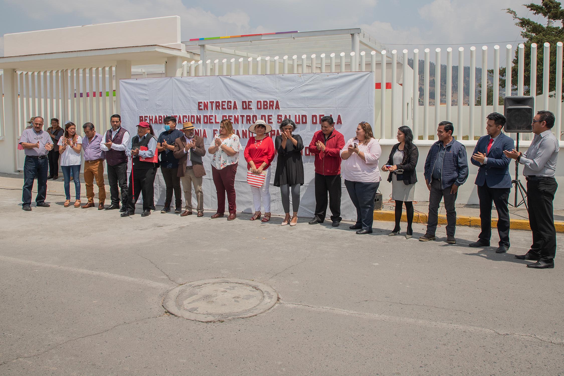 Rehabilitan Centro de Salud en Zinacantepec