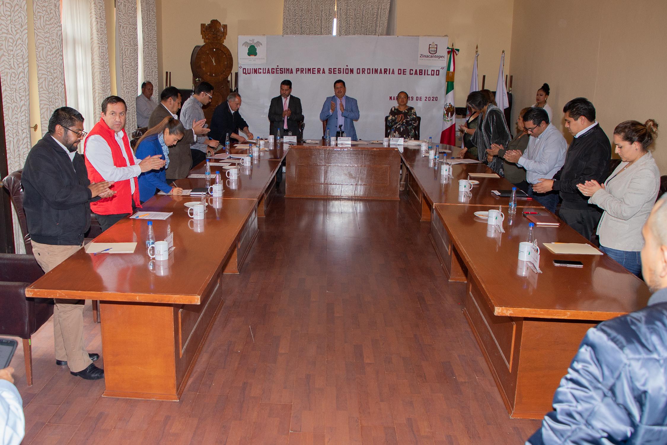 Refuerzan medidas de prevención en Zinacantepec
