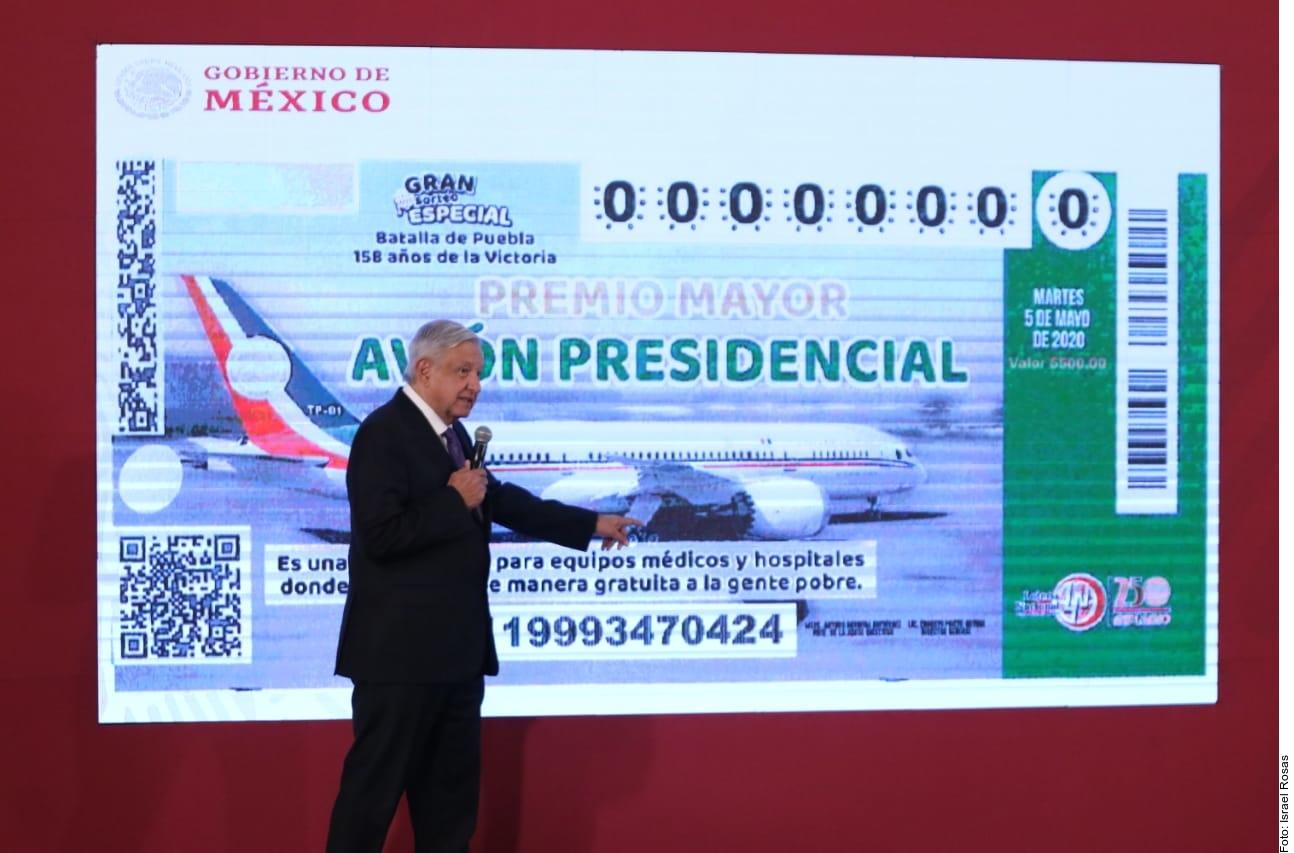 """Aquí te decimos quiénes son los ganadores de la """"Rifa del Avión Presidencial"""""""