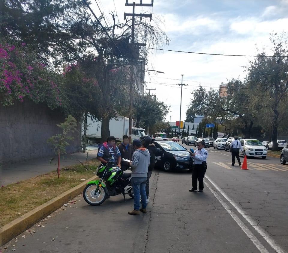 """Inhiben autoridades de Toluca delitos con operativo """"Moto Segura"""""""