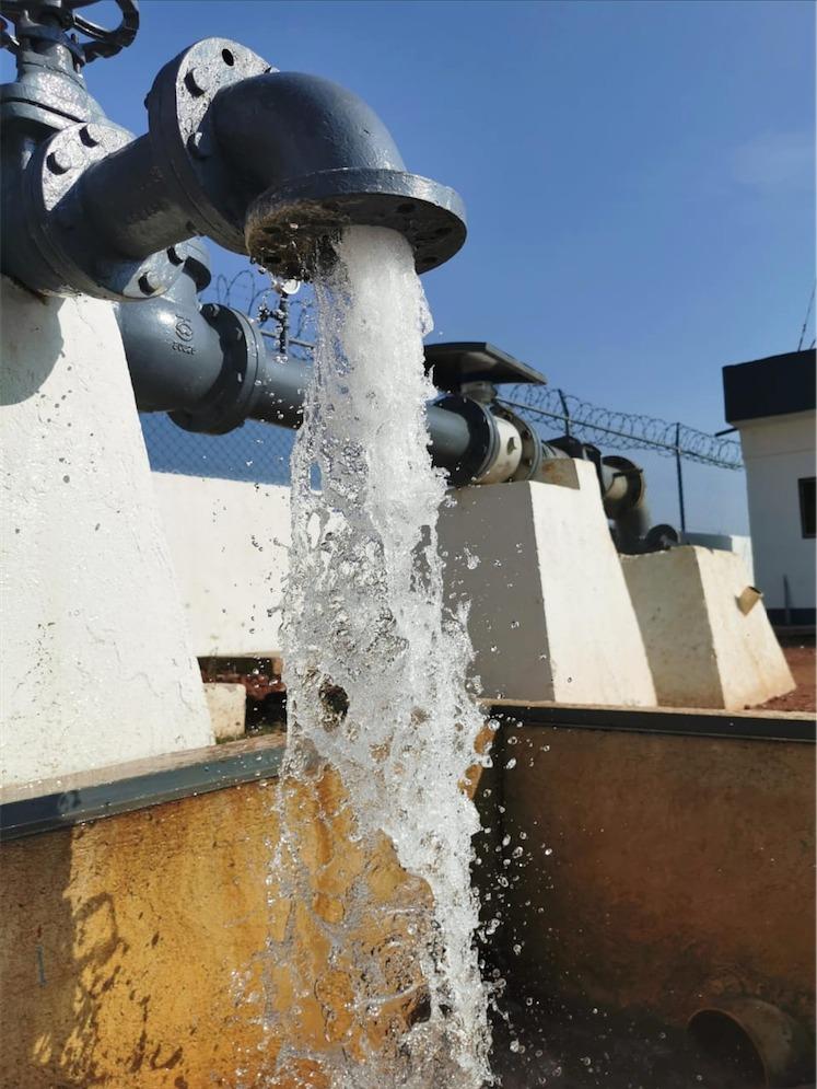 El Proceso de cloración mantiene la potabilidad del agua en Toluca