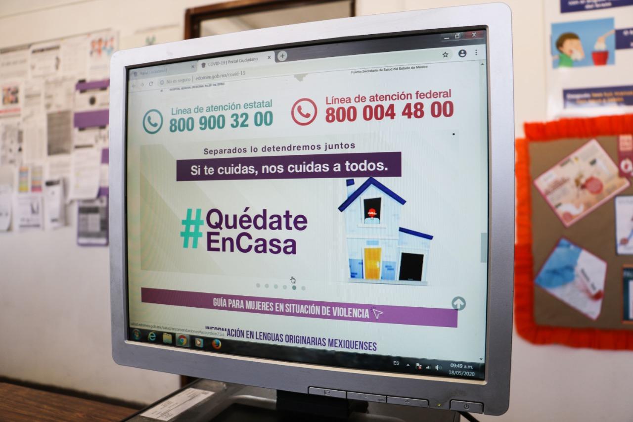 51 mil mexiquenses reciben orientación telefónica sobre el coronavirus