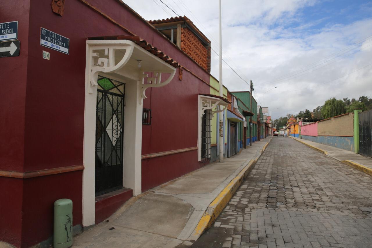 Tianguis de Metepec colaboran con la suspensión de actividades ante covid-19