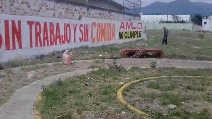 Vecinos piden a AMLO apoyos para enfrentar emergencia sanitaria en el EDOMEX